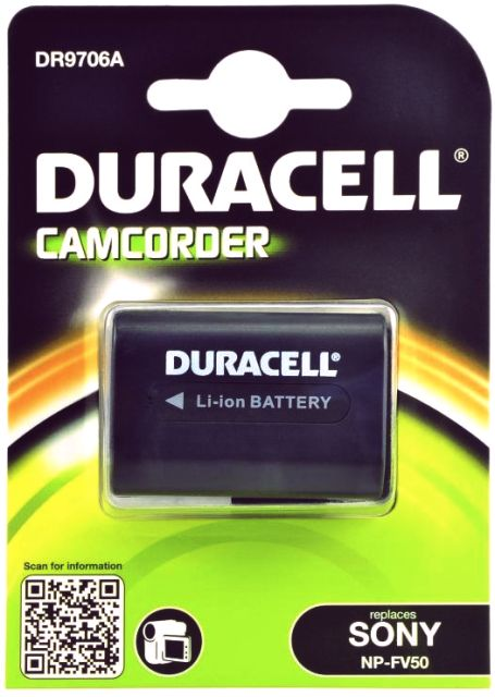 Duracell DR9706A - Sony NP-FV50