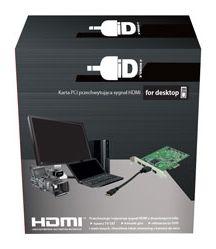 Karta przechwytująca 4xHDMI PCI-E 2