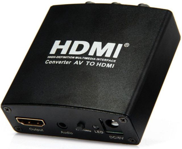 Konwerter AV do HDMI HDCAV01 2