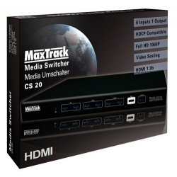 MaxTrack Media Converter CS20L